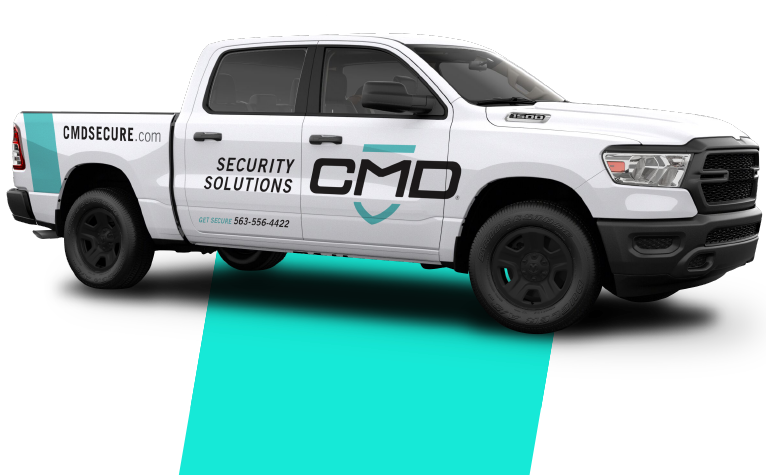 CMD Security Solutions Truck